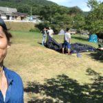 知明湖キャンプ場で夏満喫キャンプ♪